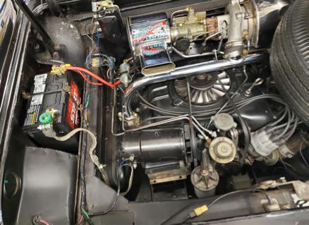 Corvair Monza Spyder Turbo 1963 engine