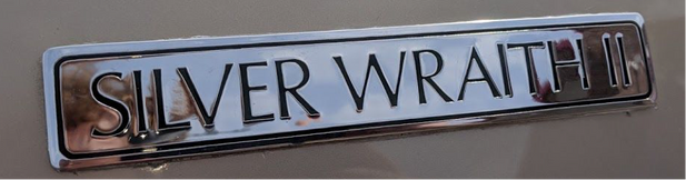 Rolls Royce Silver Wraith 1977 detail