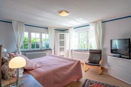 Schlafzimmer Ferienwohnung Erdgeschoss