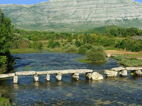 Cetina - glorious river and its gifts