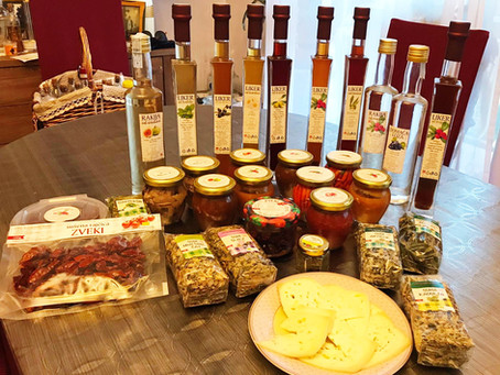 Lanđin - Top Island Products of Pašman