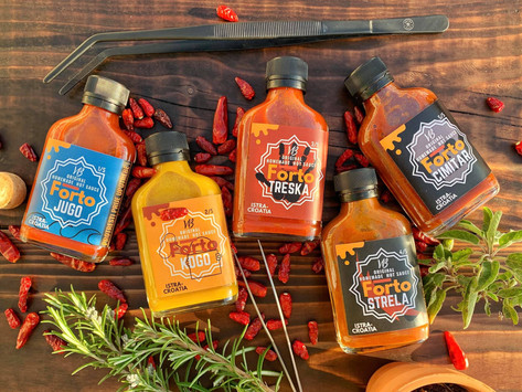 Forto - Istrian Hot Sauces