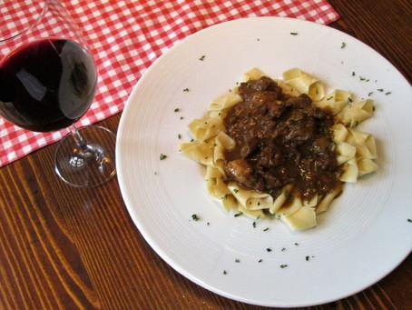 Lamb Stew in the Tavern Ulikva, Omišalj