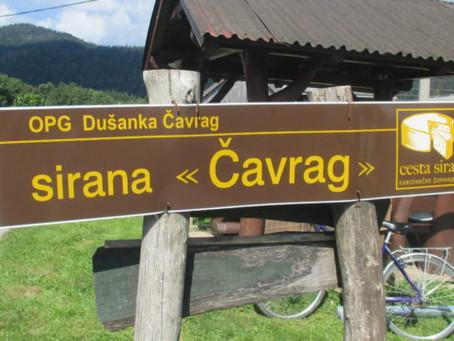 Cheese from the Mountain: OPG Čavrag, Jasenak