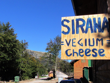 Dairy beneath the Velebit Mountain