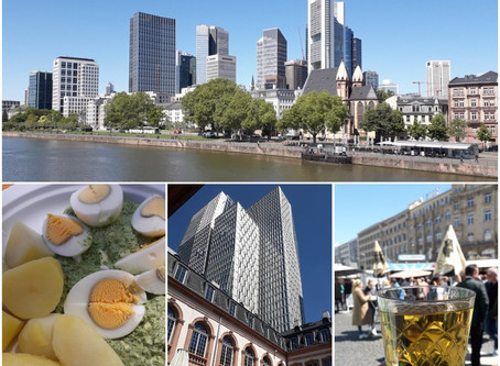 Frankfurt - town of the Green Sauce and the Apple Wine