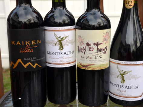 Wineries Montes and Kaiken presented in Zagreb