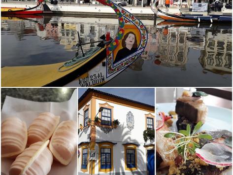 Aveiro - fish, salt and sweet eggs