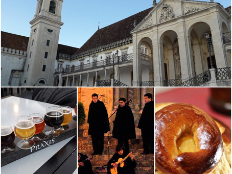 Coimbra - university town with suprising gastronomy