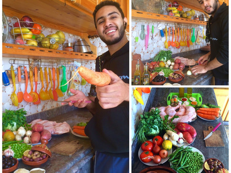 Mohamed Lhamrani: I became a master of Moroccan Tajine!