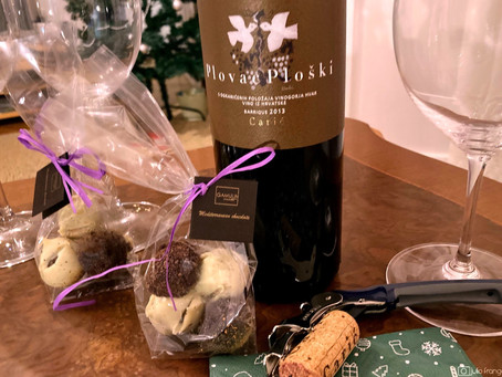 Blend of Hvar's Wine and Chocolate