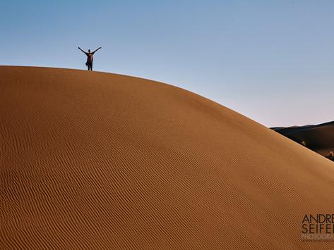 In the magnificent Maranjab desert
