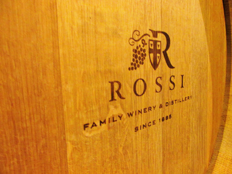 Knightly experience at the Rossi Winery
