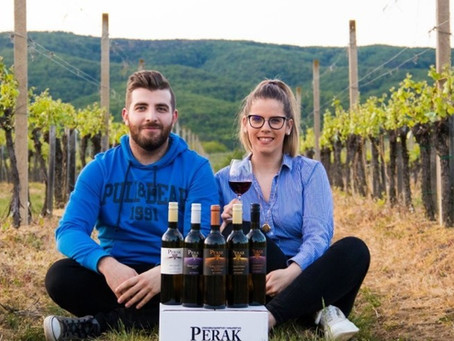 Perak champion of continental wines