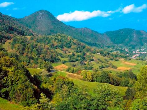 Meals on Samobor Mountains