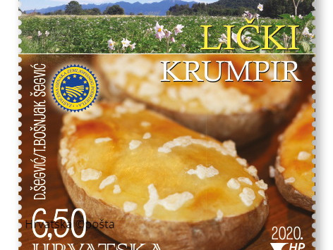 Gastronomy on postal stamps