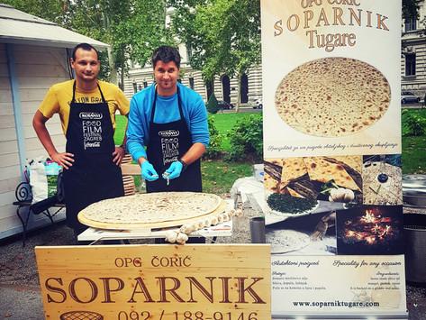 Soparnik comes to Zagreb - OPG Čorić
