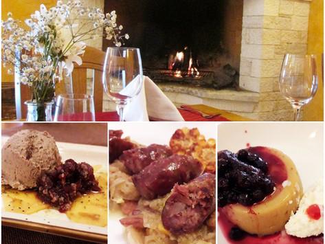 Autumn on Plates of Doma Tavern