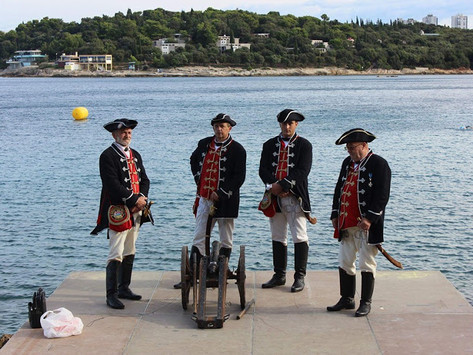 Naval tradition and Bakar baškot