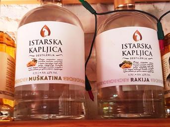 Istarska kapljica - the most successful Istrian brandy