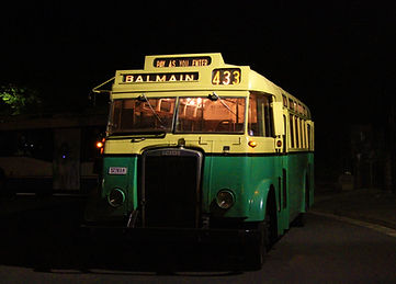 2599 at Millers Point on a night tour in 2015.