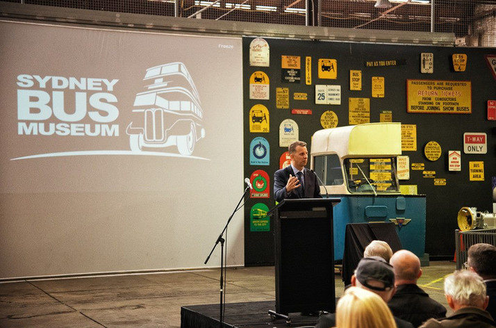 NSW Minister for Transport & Roads, The Hon. Andrew Constance MP