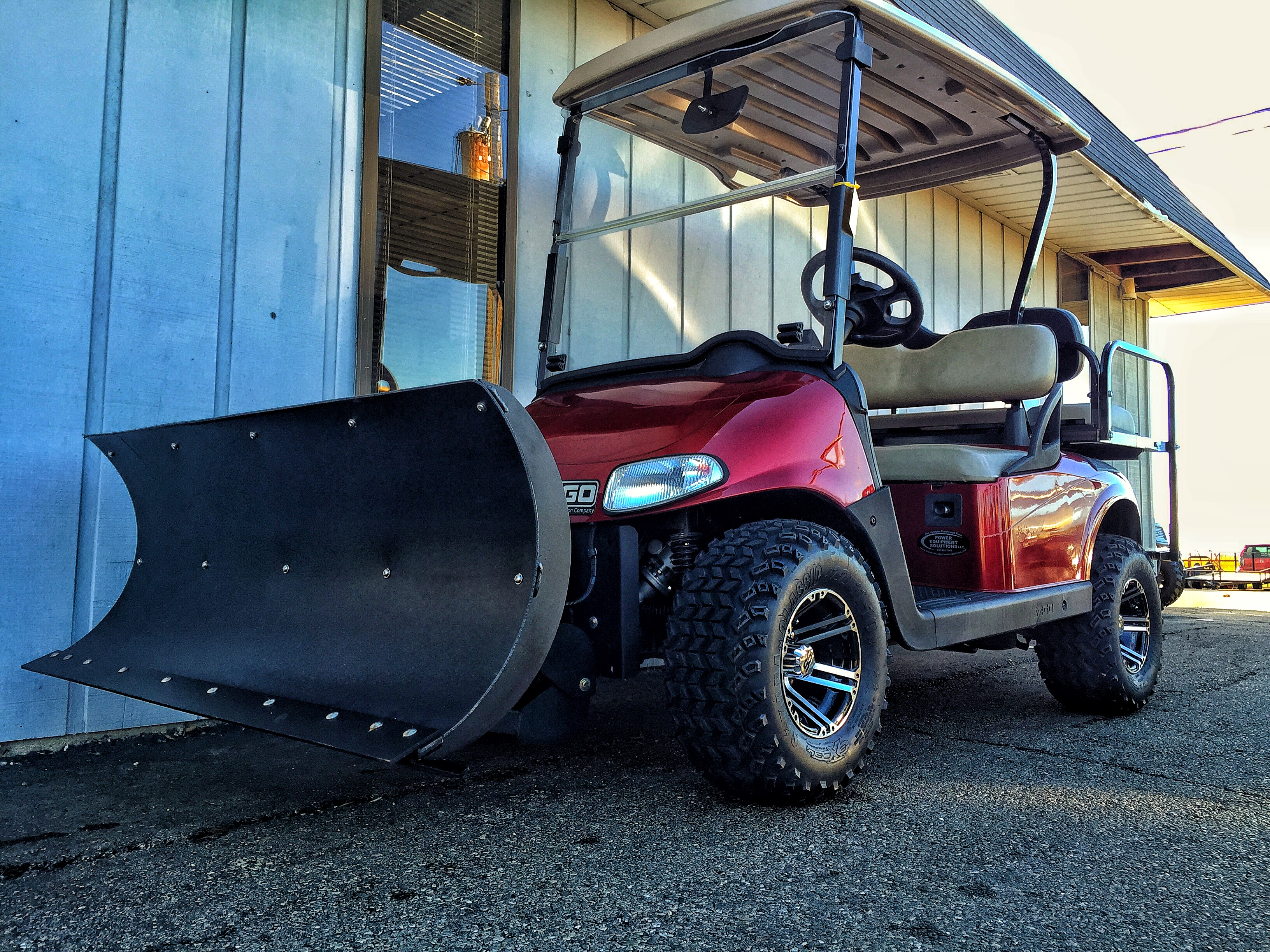 2010 E-Z-GO RXV WITH PES SNOWPLOW AND POWER STEERING KIT | New ... on commercial golf carts, gas golf carts, custom golf carts, utility golf carts, solar panels for golf carts, used golf carts, john deere golf carts, luxury golf carts, hot golf carts, dodge golf carts, polaris golf carts, lifted golf carts, accessories golf carts, ebay golf carts, electric golf carts, concept golf carts, ezgo hunting carts, yamaha golf carts, honda golf carts, golf push carts,