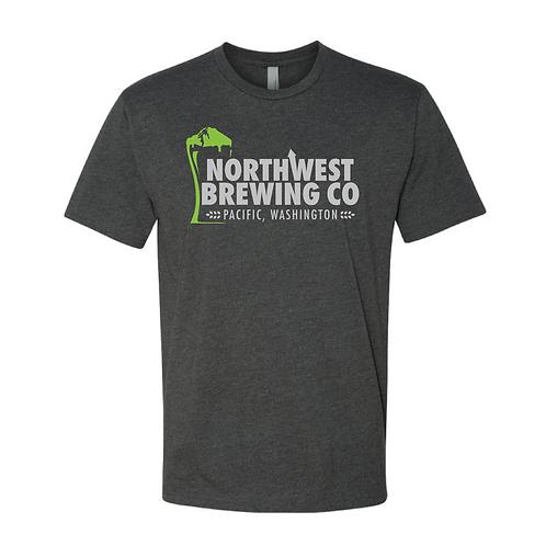 Green Logo Men's T-Shirt