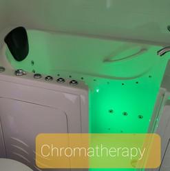 Master Bath After - Walk-in Tub - Chromatherapy