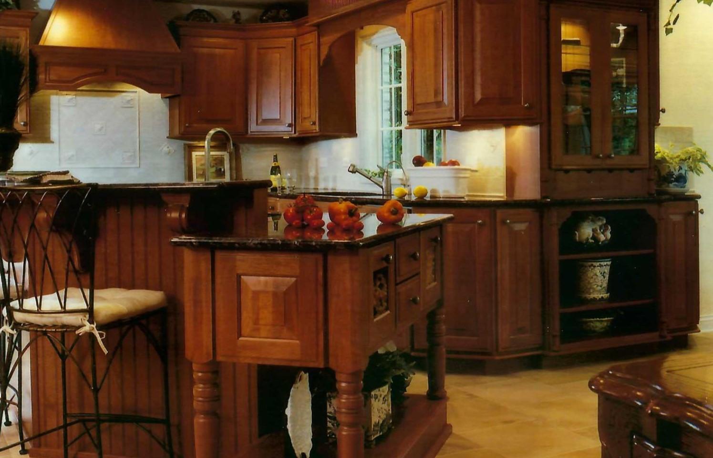Custom Kitchen Work Areas