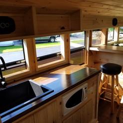 School Bus Kitchen