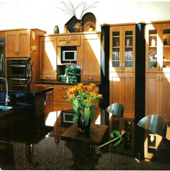 Kitchen Table & Cabinets