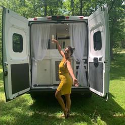 Van Conversion Happy Customer
