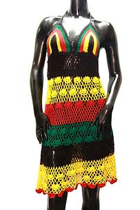 Crochet Rasta Dress