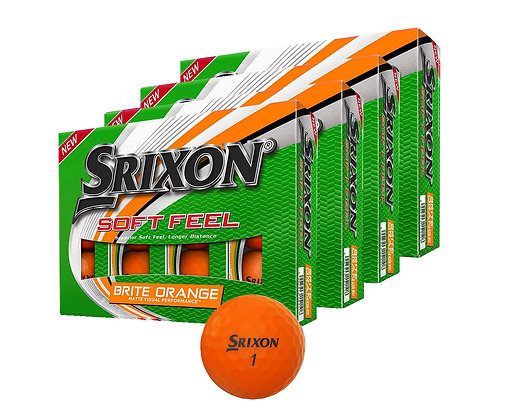 Srixon: Soft Feel 11 Brite - 4 dozen