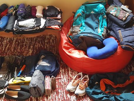 Arrumando as malas #7 - como planejar uma LONGA viagem gastando menos