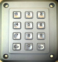 Dispenser Programming Keypad