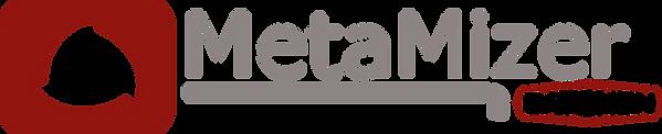 MetaMizer Batchen Logo Red Transparent D