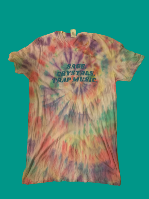 ReFreshed Sage. Crystals. Trap Pastel Swirl Tee