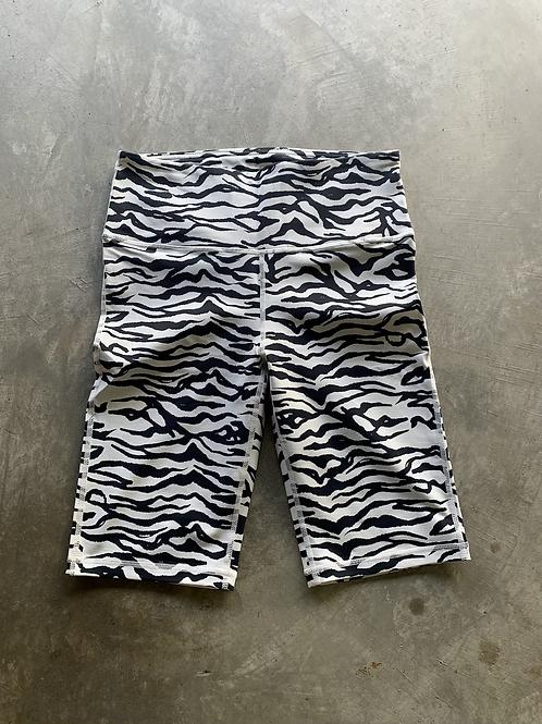 Zebra Print Bermuda Short