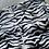 Thumbnail: Zebra Print Bermuda Short