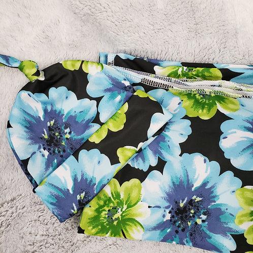 Blue Blossoms Swaddle set