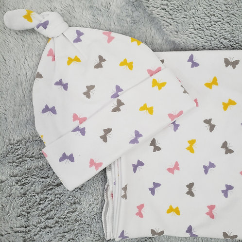 Butterfly Swaddle Set