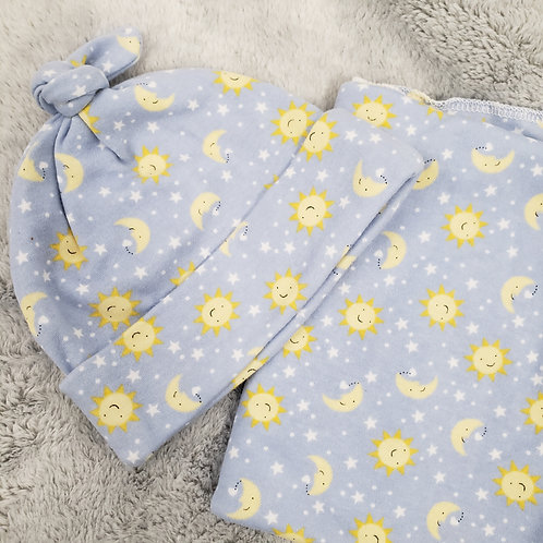 Moon and Sun Swaddle Set