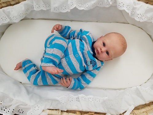 Baby Blues - blue eyed reborn doll RESERVED for Marissa S