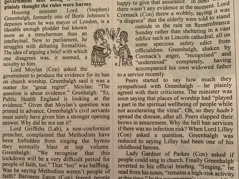 Private Eye: 'Called to Ordure'