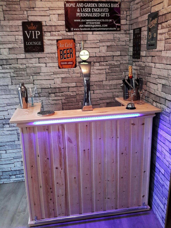 Monaco Rear Fridge Home Bar Garden Bar Mancave Style Home Bars