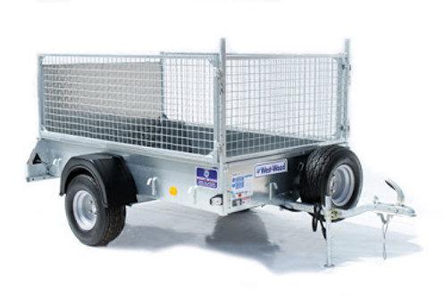 Ifor Williams P7e ATV trailer mesh sides