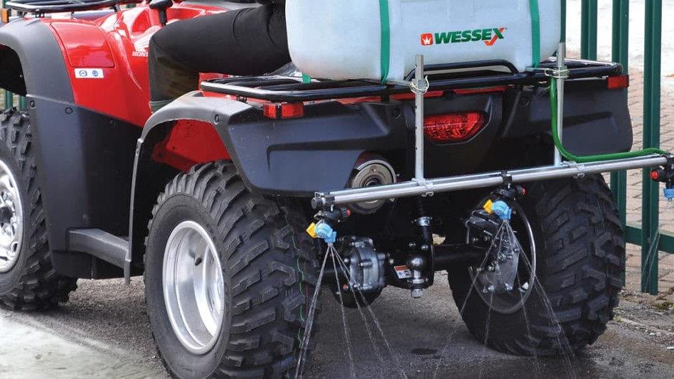 WESSEX BS-618 ATV LIQUID BRINE SPRAYER