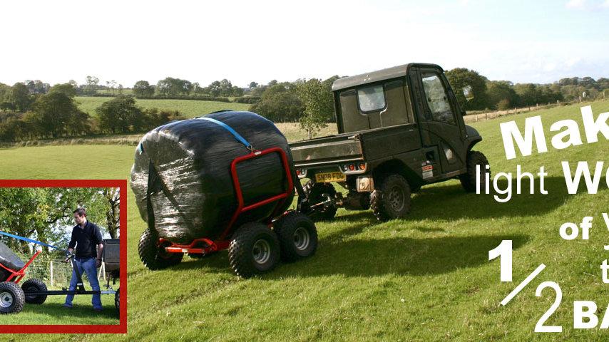 ATV/UTV Round Bale Transporter